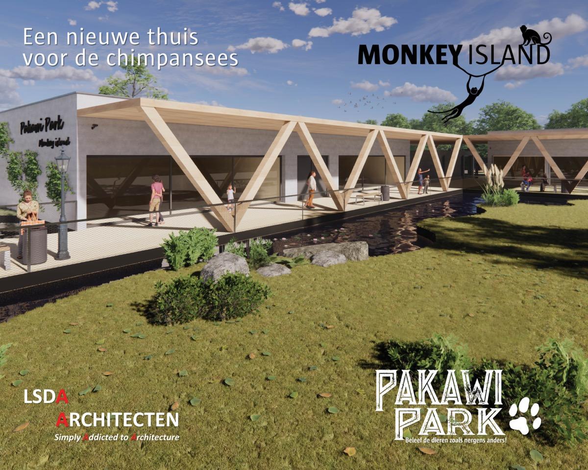 monkeyIsland Pakawi Park ontwerp